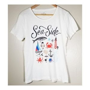 J.Crew Factory▪︎Seaside Collection Tee